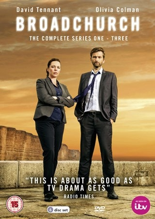 Broadchurch: The Complete Series 1-3