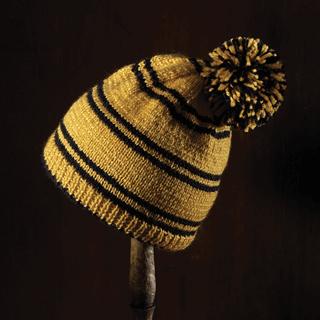Harry Potter: Hufflepuff Bobble Hat Kit: Knit Kit: Hero Collector