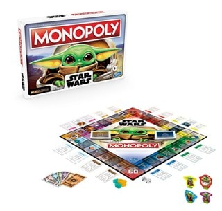 Monopoly: The Mandalorian: Baby Yoda The Child