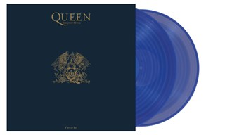 Greatest Hits II (hmv Exclusive) Clear Blue Vinyl
