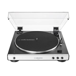 Audio Technica AT-LP60XBT White Bluetooth Turntable