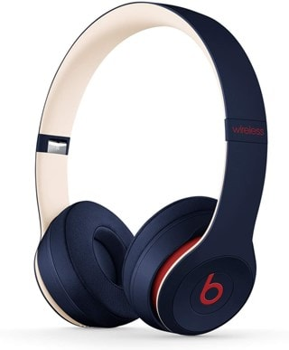 Beats By Dr Dre Solo 3 Wireless Club Navy Headphones