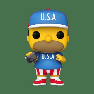 U.S.A. Homer (905) The Simpsons Pop Vinyl