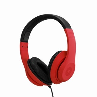 Roam Colours Plus Red Headphones W/Mic