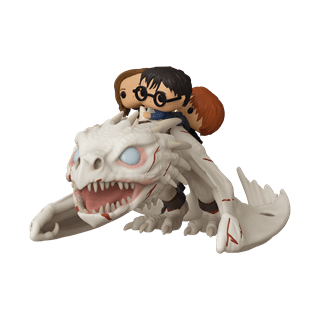 Harry, Hermione & Ron Riding Gringotts Dragon (93) Harry Potter Pop Vinyl Rides