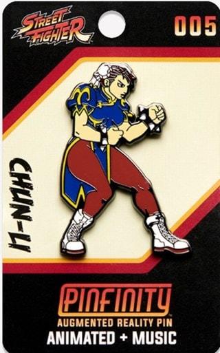 Chun-Li: Street Fighter Pinfinity Pin Badge
