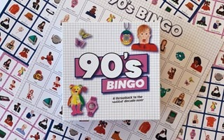 90'S Bingo: Throwback To The Raddest Decade Ever Board Game