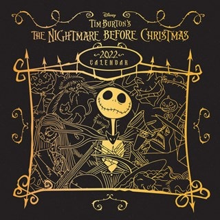 The Nightmare Before Christmas (hmv Exclusive) Square 2022 Calendar
