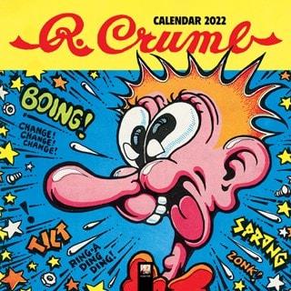 R. Crumb Square 2022 Calendar