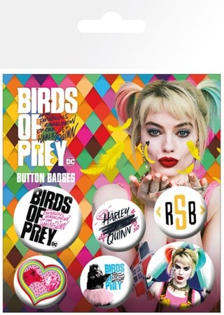 Birds Of Prey Badge Pack