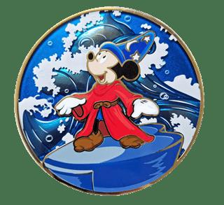 Fantasia Mickey Conducting: Disney Limited Edition Artland Pin