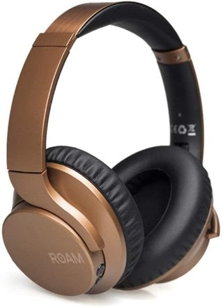 Roam R-Lab Bronze Bluetooth Active Noise Cancelling Headphones