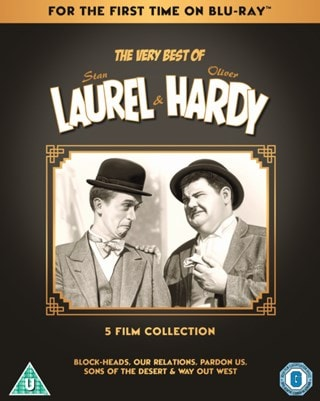 The Very Best of Laurel & Hardy: 5 Film Collection