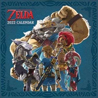 The Legend of Zelda: Square 2022 Calendar