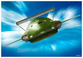 Thunderbird 2: In Action (Front) Art Print