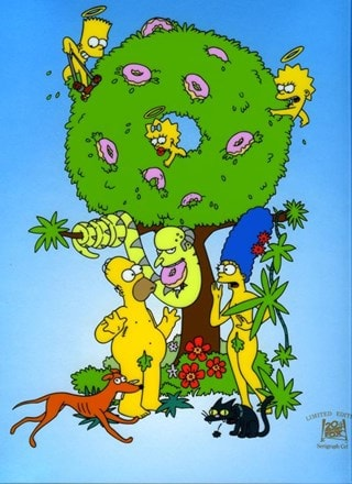 The Simpsons: Garden of Springfield Limited Edition Art Print
