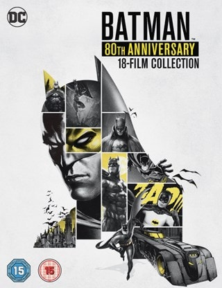 Batman: 80th Anniversary 18-film Collection