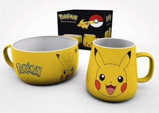 Pokemon (Pikachu) Breakfast Set
