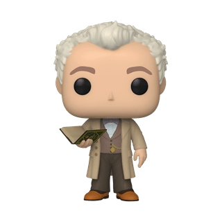 Aziraphale With Book (1077) Good Omens Pop Vinyl (with I ce Cream Chase)