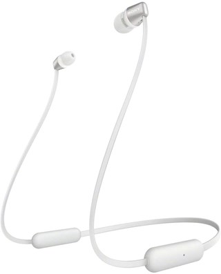 Sony WI-C310 White Bluetooth Earphones