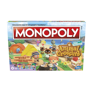 Animal Crossing New Horizons Monopoly Board Game