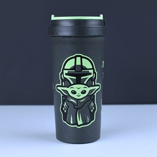The Mandalorian: Cutest in the Galaxy Travel Mug