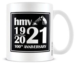 hmv 100th Anniversary White Mug