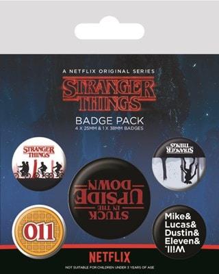 Stranger Things: Upside Down Badge Pack