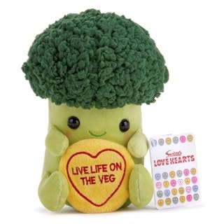Brian the Broccoli: Swizzles Love Hearts Collection Plush Toy