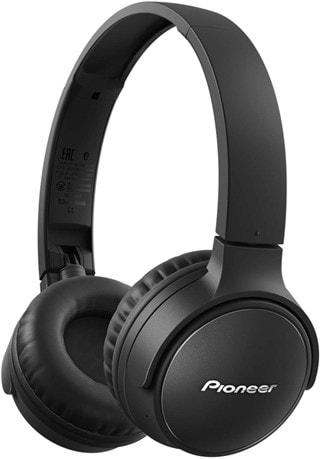 Pioneer S3 BT Black Bluetooth Headphones