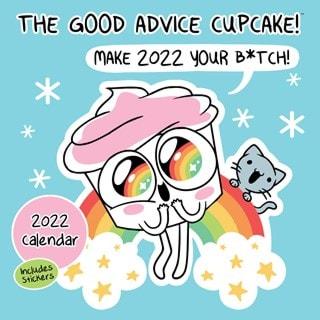 The Good Advice Cupcake Square 2022 Calendar