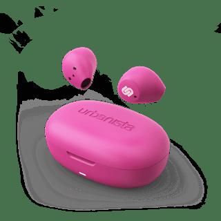 Urbanista Lisbon Blush Pink True Wireless Blueatooth Earphones