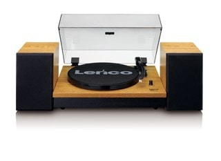 Lenco LS-300 Wood turntable and Speakers
