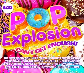 Pop Explosion: Can't Get Enough!