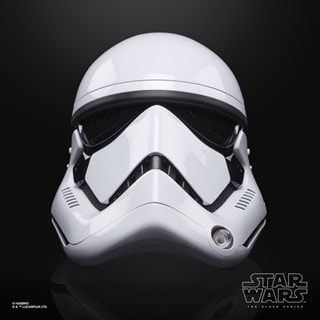 First Order Stormtrooper Electronic Helmet: Star Wars Black Series