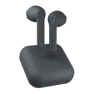 Happy Plugs Air1 GO Black True Wireless Bluetooth Earphones