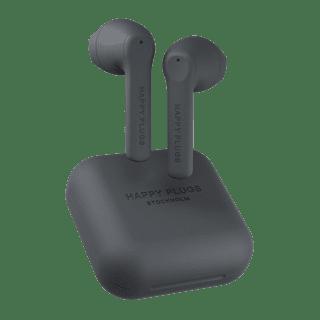 Happy Plugs Air1 GO Black True Wireless Bluetooth Earphones