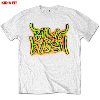 Billie Eilish: Graffiti (Kids Tee)