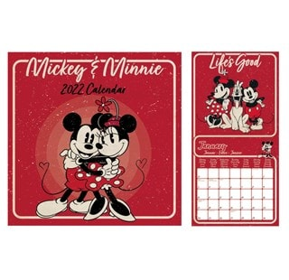 Mickey & Minnie: Square 2022 Calendar
