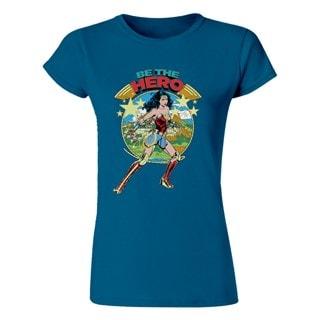 Wonder Woman: Be The Hero Ladies Fit Tee