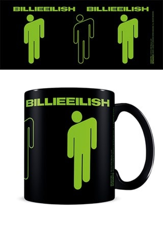 Billie Eilish Stickman Coffee Mug