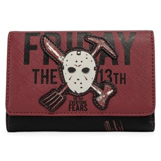 Friday the 13th: Jason Mask Loungefly Wallet