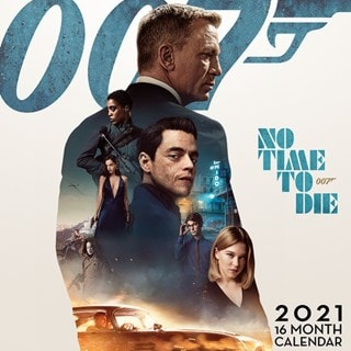 James Bond: No Time To Die Square 2021 Calendar