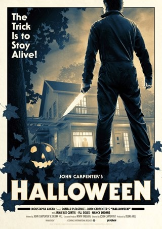 Halloween Movie Poster Matt Ferguson Limited Edition Art Print