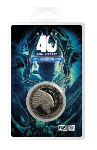 Alien 40th Anniversary Limited Edition Coin