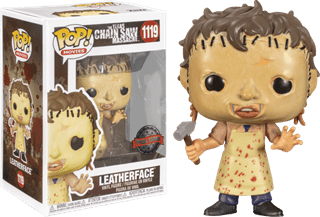 Leatherface With Hammer (1119): Texas Chainsaw Massacre Pop Vinyl