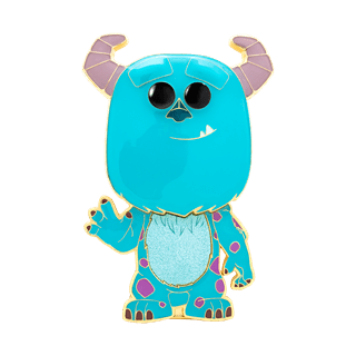 Sulley: Monsters Inc Funko Pop Pin