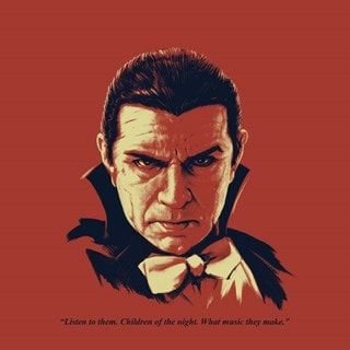Dracula: Bela Lugosi As Dracula Headshot Art Print