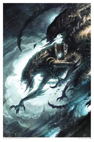 Alien: More Than Human Raymond Swanland Limited Edition Lithograph Print