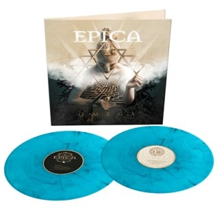 Omega - Limited Edition Turquoise/Black Marbled Vinyl